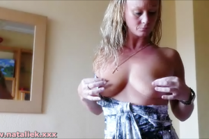 NatalieK porn adult Natural tits top50 2016 nipples