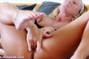NatalieK porn adult top50 2016 fingering finger fucking