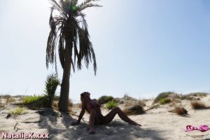 NatalieK xxx adult porn nudist beach