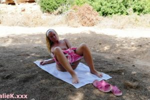 NatalieK adult xxx public outdoor big butts short shorts