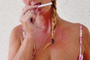 NatalieK xxx smoking porn upskirt natural tits
